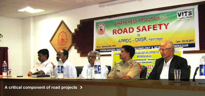 A critical component of road projects